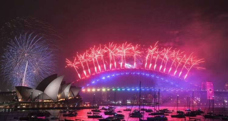 AÑO NUEVO 2020 EN SIDNEY AUSTRALIA