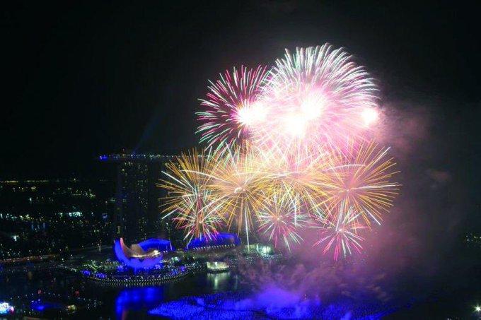 AÑO NUEVO 2020 EN SINGAPUR