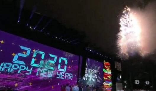 Año Nuevo 2020 en Taiwan