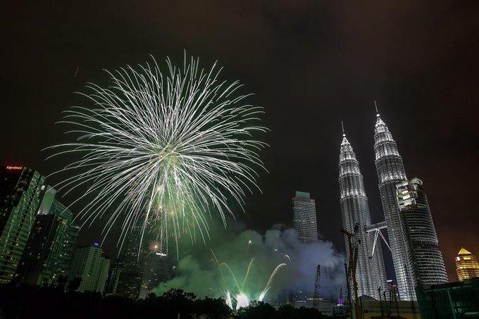 Año Nuevo en Kuala Lumpur, Malasia Así se celebra la llegada del Año Nuevo 2020 alrededor de Mundo