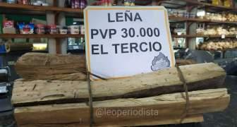 Venezuela usan leña para cocina