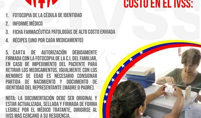 COMO SOLICITAR MEDICAMENTOS DE ALTO COSTO EN EL IVSS 2020