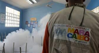 Comenzó jornada especial de fumigación en escuelas de la parroquia Francisco Eugenio Bustamante