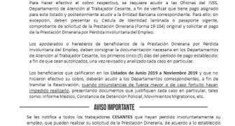 Desde el Lunes 27 de Enero de 2020, el IVSS inicia el pago de las prestaciones dinerarias