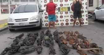GNB aprehendió a dos ciudadanos por contrabando de material estratégico en el estado Bolívar