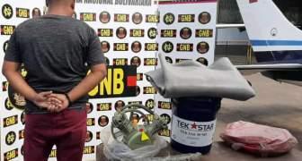 GNB capturó a ciudadano con material para ejercer minería ilegal en el estado Bolívar 2020