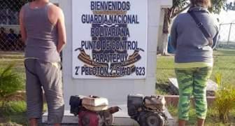 GNB aprehendió a dos ciudadanos con material minero ilegal en el estado Bolívar