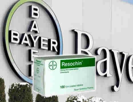 BAYER DONACION DE CLOROQUINA