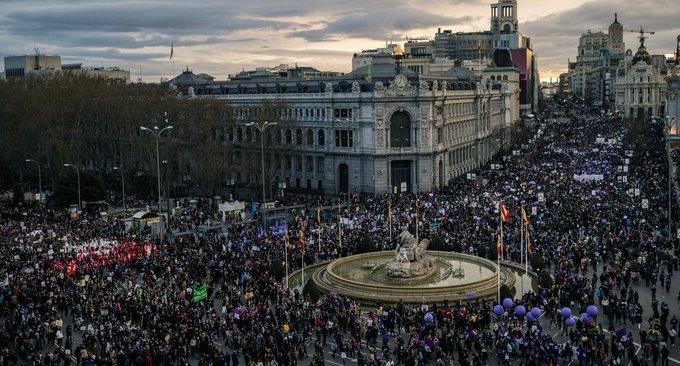 MADRID DIA DE LA MUJER 2020