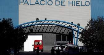PALACIO DE HIELO MADRID USADO COMO MORGUE
