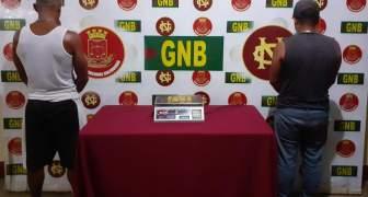 GNB aprehendió a dos ciudadanos con material aurífero en el estado Bolívar
