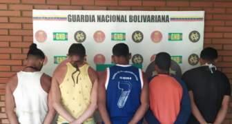 GNB capturó a mineros ilegales en área de seguridad del complejo Hidroeléctrico Macagua