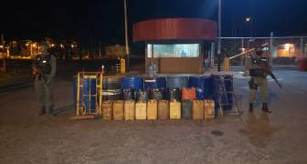 GNB frustró hurto de combustible en planta de Pdvsa Sisor de Puerto Ordaz estado Bolívar