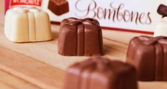 La marca de Chocolates St. Moritz