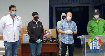 Taiwán donó más de 19 mil insumos médicos a venezolanos para prevenir y detectar coronavirus