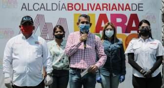 Alcalde de Maracaibo entregó la Calle 72 totalmente reacondicionada