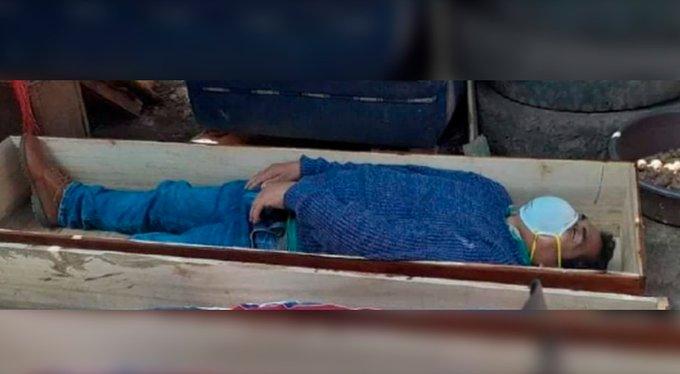 Alcalde en Perú rompe la cuarentena para ir a beber y finge su muerte para no ir preso