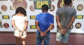 GNB capturó a tres ciudadanos por homicidio en el municipio Gran Sabana del estado Bolívar