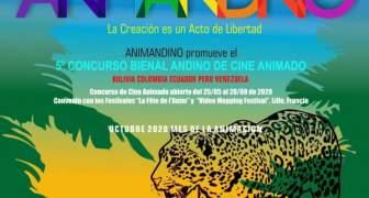 Abierta convocatoria del 5º Concurso Bienal Andino de Cine Animado ANIMANDINO