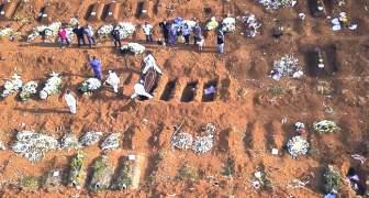 BRASIL Más de 1 millón de infectados y más de 50 mil muertos por COVID-19