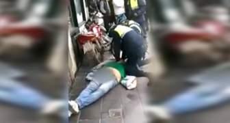 En Argentina Un hombre murió asfixiado por un policía