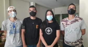 Estudiantes de la UDO Bolívar