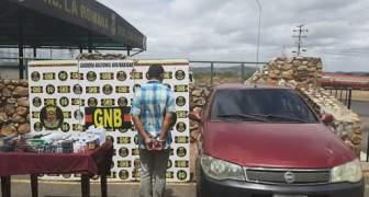 GNB capturó a ciudadano por contrabando de medicinas en el estado Bolívar