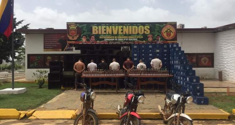 GNB detuvo a 07 sujetos por incumplimiento de la cuarentena en el estado Bolívar