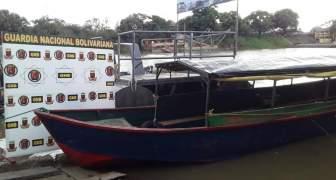 GNB fortalece las operaciones de vigilancia fluvial en el estado Bolívar