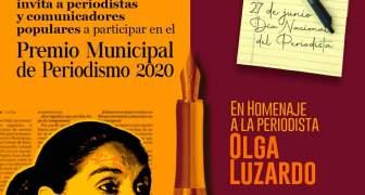 Premio Municipal de Periodismo 2020