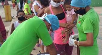 Connacionales y comunidades del municipio Guajira reciben atención del Instituto Nacional de Nutrición