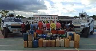 GNB capturó a 12 ciudadanos y desmanteló depósito clandestino de combustible en el estado Bolívar