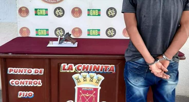 """GNB capturó integrante del GEDO """"Los Pelaos"""" en la población de Macagua del estado Bolívar"""