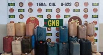 GNB desmanteló depósito clandestino de combustible en la población Santa Elena de Uairén del estado Bolívar