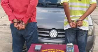 GNB capturó a dos ciudadanos durante robo a unidad de transporte público el estado Bolívar