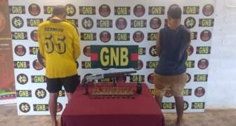 GNB capturó a dos integrantes del GEDO El Perú en El Callao estado Bolívar