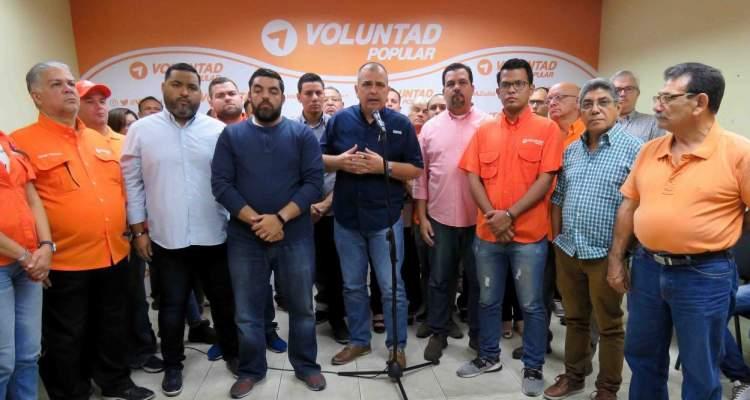 Renuncian en masa dirigentes de Voluntad Popular Zulia