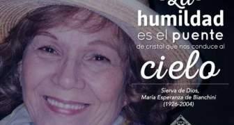 Sierva de Dios María Esperanza de Bianchini II