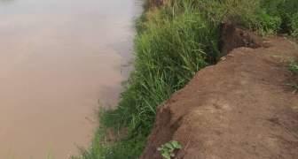 muro de contención del Río Zulia
