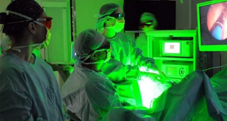 Uso del laser en la urologia