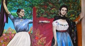 Frida Kahlo y María Félix