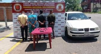 GNB captura 04 integrantes de la Banda delictiva Brisas del Sur