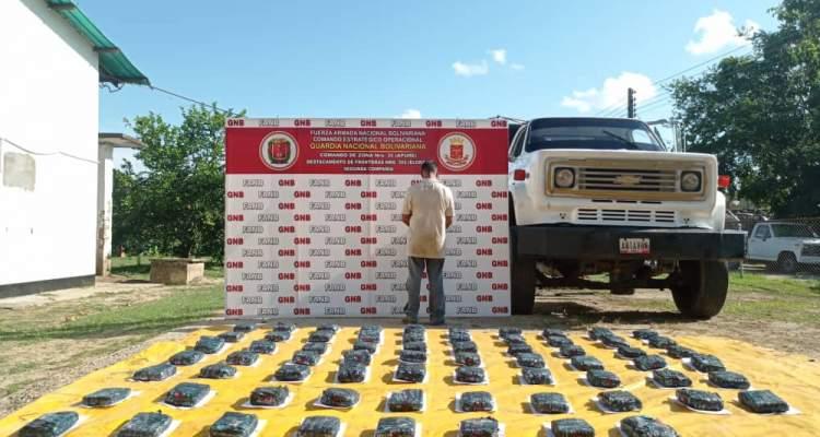 GNB desmanteló GEDO dedicado al tráfico de droga en Apure