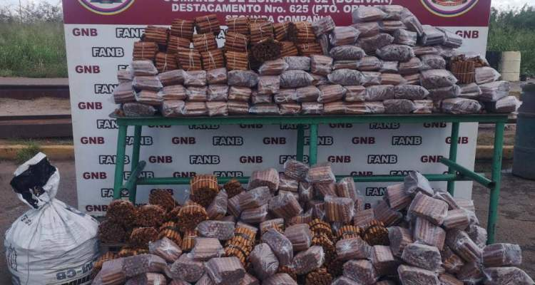 GNB retiene 32 mil 800unidades de tabaco carentes de permisología sanitaria y de origen