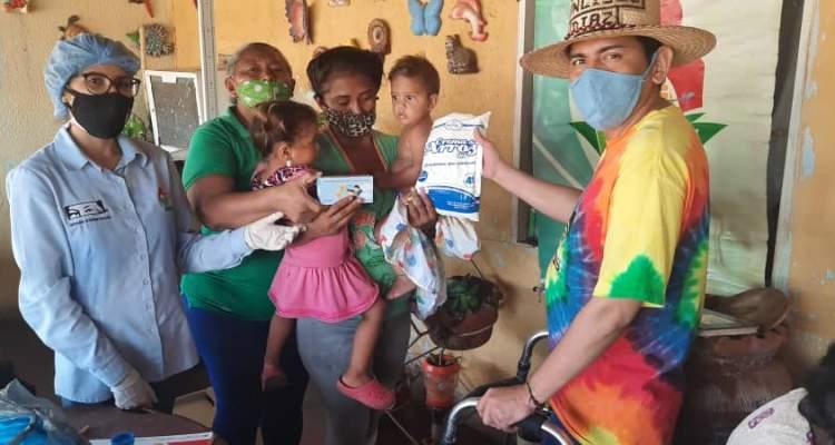 Habitantes del municipio Jesús Enrique Lossada del Zulia reciben atención nutricional