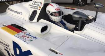 JOHNNY CECOTTO EN EL PROTOTIPO BMW V12 DE 1999
