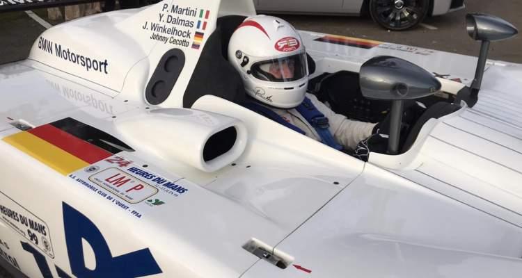 JOHNNY CECOTTO EN EL PROTOTIPO BMW V12 DE 1999