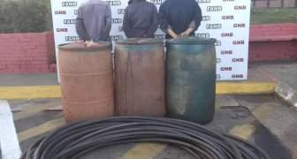GNB desarticula banda dedicada al hurto de combustible de planta de PDVSA