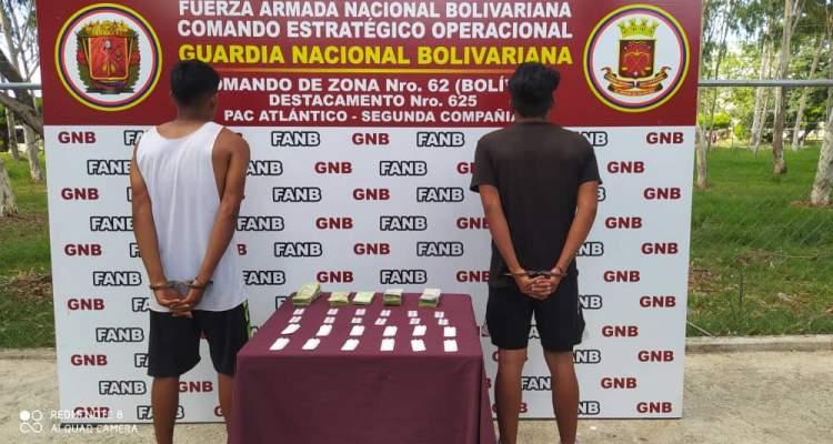 GNB detiene dos sujetos que comercializaban medicamentos de manera ilegal