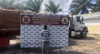 GNB incauta más de 30 toneladas de cemento en el estado Bolívar